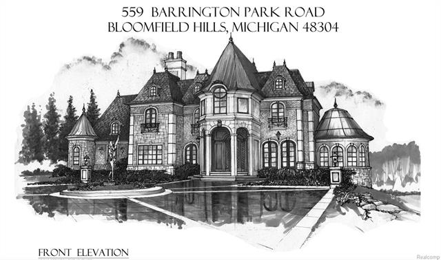 New Construction in the most exclusive address in Bloomfield Hills, a Private 3.11-acre lot in Gated Barrington Park with over 6,300 square foot estate. Known for their quality craftsmanship and meticulous attention to detail, IDEAL homes will build you your dream home.