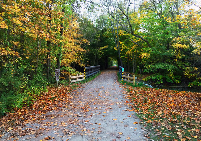Paint creek trail